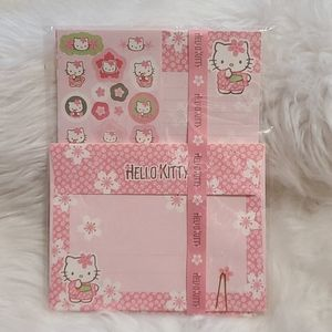 New! Hello Kitty Cherry Blossom 🌸 Stationary Set
